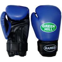BGH-2036 Перчатки HAMED синие 12 OZ бокс.без таргета