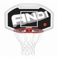 Баскетбольный щит AND1 110cm Junior Backboard and Goal Combo