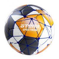 Мяч футб. ATEMI SPECTRUM, PU бел/сер/оранж, р.5