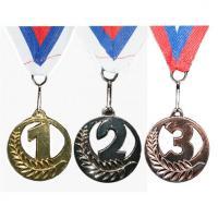 Медаль 1, 2, 3 место с трафаретом 5501 5см
