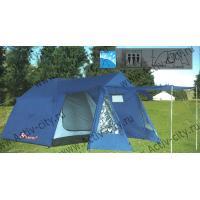 Палатка 4-х местная KUMYANG Д(210+110+80)+Ш230+В185см (1704)
