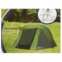 Палатка 3-х местная KUMYANG Д(210+190)+Ш250+В135см (1709)
