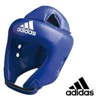 adiBH01 Шлем боксерский Competition Head Guard синий, L