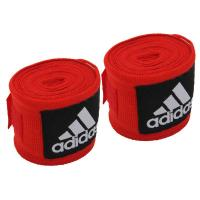 adiBP03 Бинт эластичный Boxing Crepe Bandage красный, 2.55м