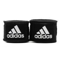 adiBP03 Бинт эластичный Boxing Crepe Bandage черный, 3.5м