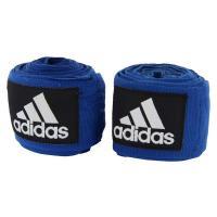 adiBP03 Бинт эластичный Boxing Crepe Bandage синий, 2.55м