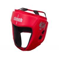 C112 Шлем боксерский Clinch Olimp красный, S