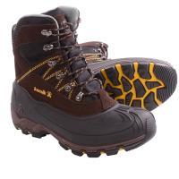 Ботинки Snowcavern(Kamik) кожа, при движ.-40, р-р44, цв.коричневый