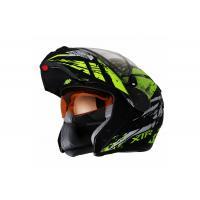 Шлем (Модуляр) снегоходный XTR MODE1 Blitz зеленый/черный  XL