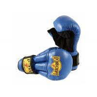 Перчатки для Рук. боя FIGHT-1, 10oz, кожа, р.M (синий) С4КХ12 РЭЙ-СПОРТ