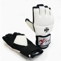 Б2701ИС Перчатки для киокусинкай карате, манжета на липучке, искожа (L)