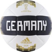 Мяч футб. ADIDAS WC2018 Capitano DFB р.5 бело-черн-золот.
