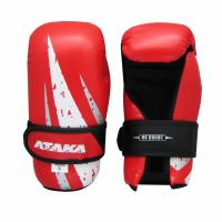 Защита кисти (перчатки) тхэквондо АТАКА Carbon р.XS красный