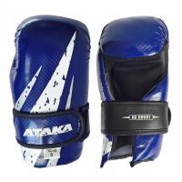 Защита кисти (перчатки) тхэквондо АТАКА Carbon р.S синий
