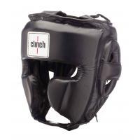 C132 Шлем боксерский Clinch Punch черный, S
