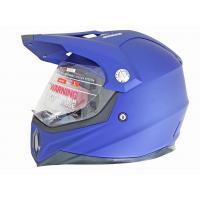 Шлем (мотард) MX453 L (синий)