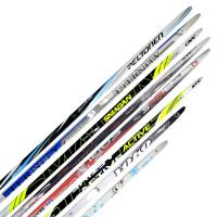 Комплект 75мм лыжи 205 step + крепление