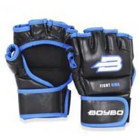 Перчатки MMA BoyBo Challenger Flex синие XL