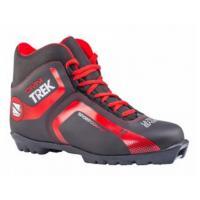 Ботинки лыжные р.34 TREK Omni2 черный(лого красный)