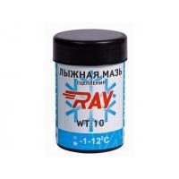 Мазь лыжная RAY WT-10 -1-12C синтетическая голубая (35г)