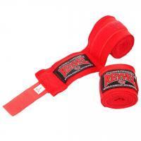 Бинт бокс REYVEL х/б+эластан 3,0м красный Б-3-К-Х/Б