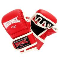 Перчатки MMA REYVEL тренировочные M красный