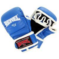 Перчатки MMA REYVEL тренировочные L синий