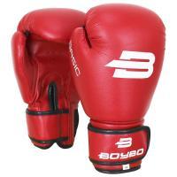 Перчатки бокс. BoyBo Basic к/з 14 oz красные