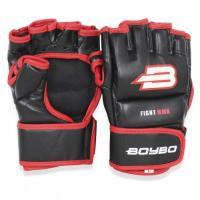 Перчатки MMA BoyBo Challenger Flex красные S