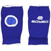 Накладки для каратэ BoyBo хлопок синие XS