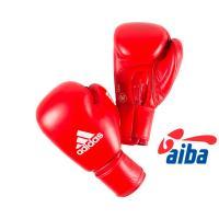 AIBAG1 Перчатки боксерские AIBA красные 12унц.