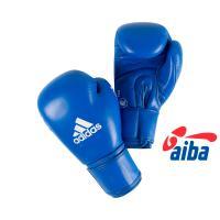 AIBAG1 Перчатки боксерские AIBA синие 12унц.
