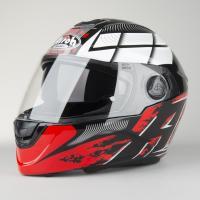 Шлем (интеграл) Airoh Starter термопл.ABS глянец красн/черн M
