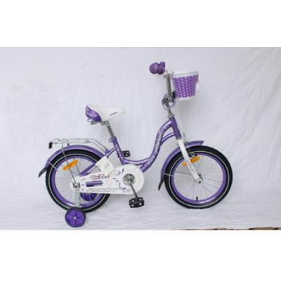 """Детский велосипед 18"""" Вел-д Tech Team T 18135 фиолетовый"""