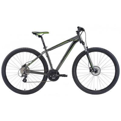 Горный велосипед В-д Merida Big Nine 100 19'' 16' Matt Black (SignalRed/Grey)