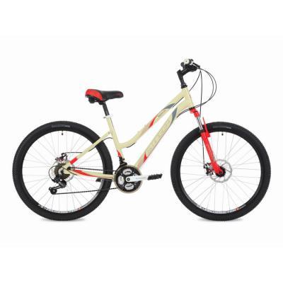 """Женский велосипед 26'' Вел-д Stinger Latina сталь, """"16""""  белый/серый"""